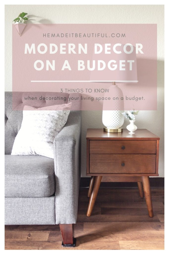 3 THINGS TO KNOW WHEN DECORATING YOUR LIVING ROOM ON A BUDGET - He ...